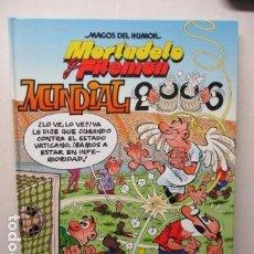 Tebeos: MAGOS DEL HUMOR, MORTADELO Y FILEMÓN, MUNDIAL 2006, Nº 110.. Lote 165244586