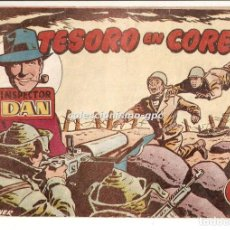 Tebeos: INSPECTOR DAN Nº 33 TEBEO ORIGINAL 1953 TESORO EN COREA EDITORIAL BRUGUERA OFERTA MIRA ! . Lote 165248254