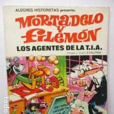 Tebeos: MORTADELO Y FILEMON - LOS AGENTES DE LA TIA - ASES DEL HUMOR 16 - IBAÑEZ - CARTONE. Lote 165249586