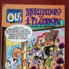 Tebeos: OLE! MORTADELO Y FILEMÓN N°92. Lote 165259862