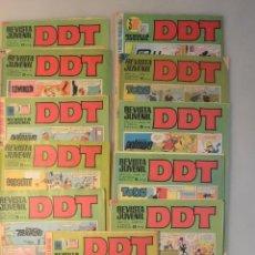 Tebeos: LOTE 11 REVISTAS JUVENIL DDT AÑOS 70. Lote 165281722