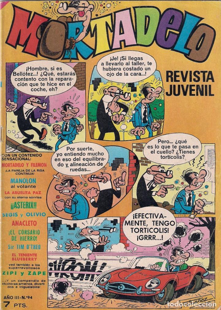 MORTADELO SEMANAL. Nº 94 (Tebeos y Comics - Bruguera - Mortadelo)