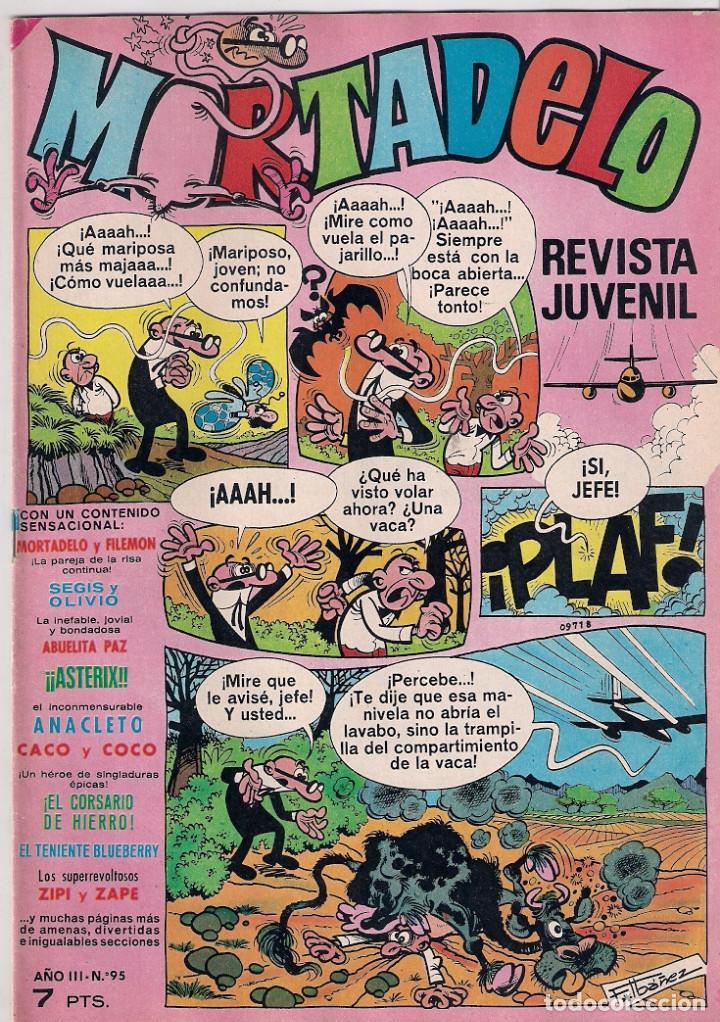 MORTADELO SEMANAL. Nº 95 (Tebeos y Comics - Bruguera - Mortadelo)