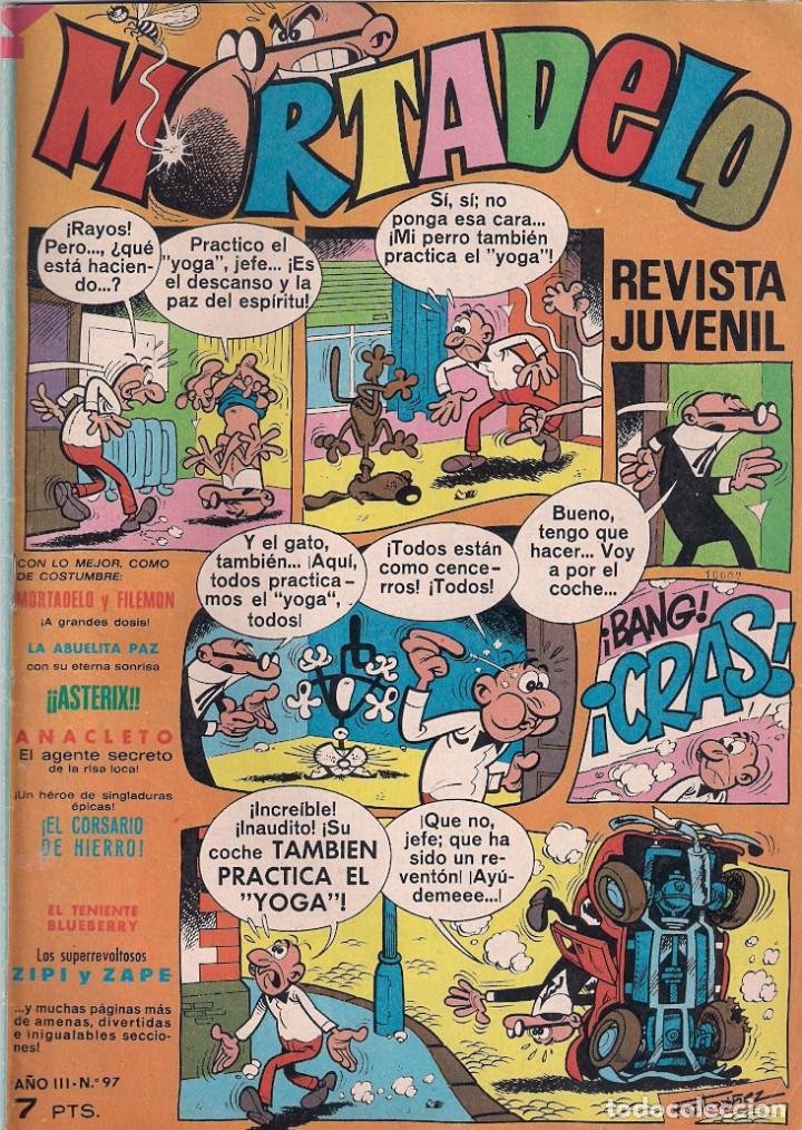 MORTADELO SEMANAL. Nº 97 (Tebeos y Comics - Bruguera - Mortadelo)