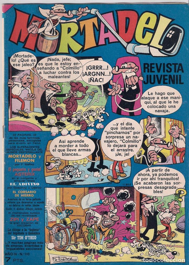 MORTADELO SEMANAL. Nº 110 (Tebeos y Comics - Bruguera - Mortadelo)