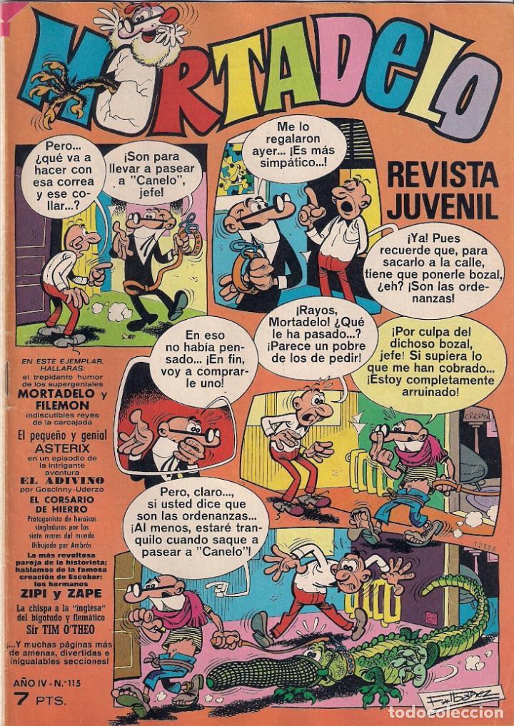 MORTADELO SEMANAL. Nº 115 (Tebeos y Comics - Bruguera - Mortadelo)