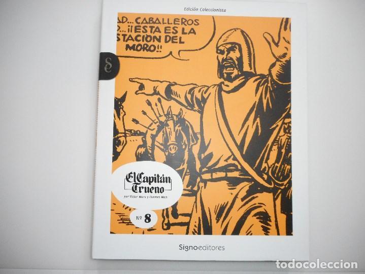 VICTOR MORA Y AMBRÓS EL CAPITÁN TRUENO Nº 8 Y94163 (Tebeos y Comics - Bruguera - Capitán Trueno)