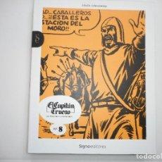 Tebeos: VICTOR MORA Y AMBRÓS EL CAPITÁN TRUENO Nº 8 Y94163. Lote 165333442
