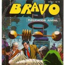 BDs: BRAVO. Nº 6. INSPECTOR DAN. Nº 3. BRUGUERA 1976. (C/A36). Lote 165399194