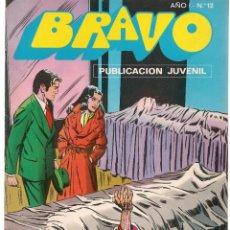 Tebeos: BRAVO. Nº 12. INSPECTOR DAN. Nº 6. BRUGUERA 1976. (C/A36). Lote 165399830