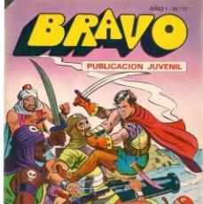 Tebeos: BRAVO. Nº 13. EL CACHORRO. Nº 7. BRUGUERA 1976. (C/A36). Lote 165402390