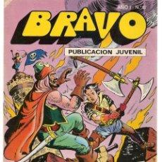 Tebeos: BRAVO. Nº 17. EL CACHORRO. Nº 9. BRUGUERA 1976. (C/A36). Lote 165402638