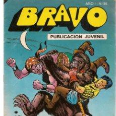 Tebeos: BRAVO. Nº 25. EL CACHORRO. Nº 13. BRUGUERA 1976. (C/A36). Lote 165403214
