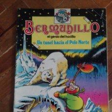 BDs: CÓMIC BERMUDILLO EL GENIO DEL HATILLO - NÚMERO 5 - UN TÚNEL HACIA EL POLO NORTE - AÑO 1982. Lote 165708330