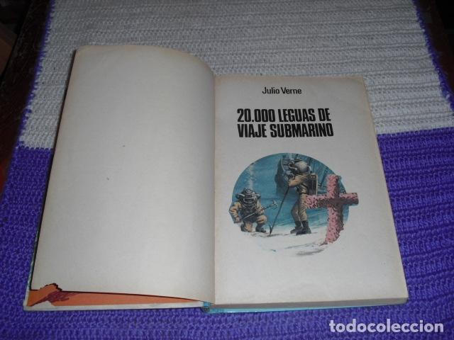 Tebeos: GRANDES OBRAS ILUSTRADAS DE JULIO VERNE - 1979 - Foto 3 - 165788302