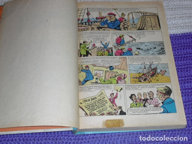 Tebeos: GRANDES OBRAS ILUSTRADAS DE JULIO VERNE - 1979 - Foto 4 - 165788302