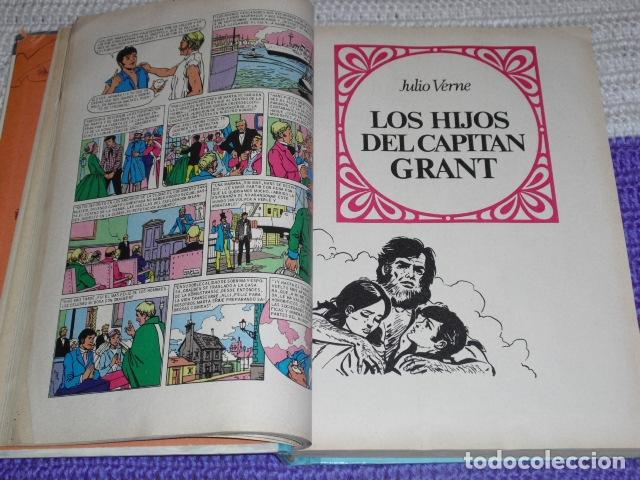 Tebeos: GRANDES OBRAS ILUSTRADAS DE JULIO VERNE - 1979 - Foto 7 - 165788302