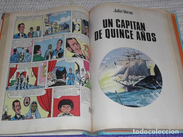 Tebeos: GRANDES OBRAS ILUSTRADAS DE JULIO VERNE - 1979 - Foto 8 - 165788302