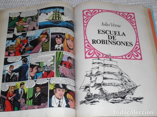 Tebeos: GRANDES OBRAS ILUSTRADAS DE JULIO VERNE - 1979 - Foto 9 - 165788302