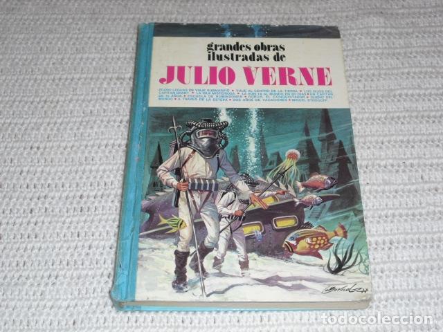 GRANDES OBRAS ILUSTRADAS DE JULIO VERNE - 1979 (Tebeos y Comics - Bruguera - Otros)