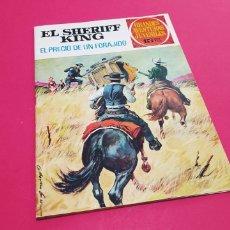 Tebeos: EXCELENTE ESTADO EL SHERIFF KING 43 BRUGUERA. Lote 165836730
