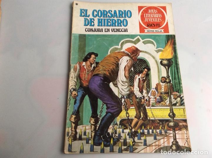 EL CORSARIO DE HIERRO Nº 19 - JOYAS LITERARIAS JUVENILES (Tebeos y Comics - Bruguera - Corsario de Hierro)
