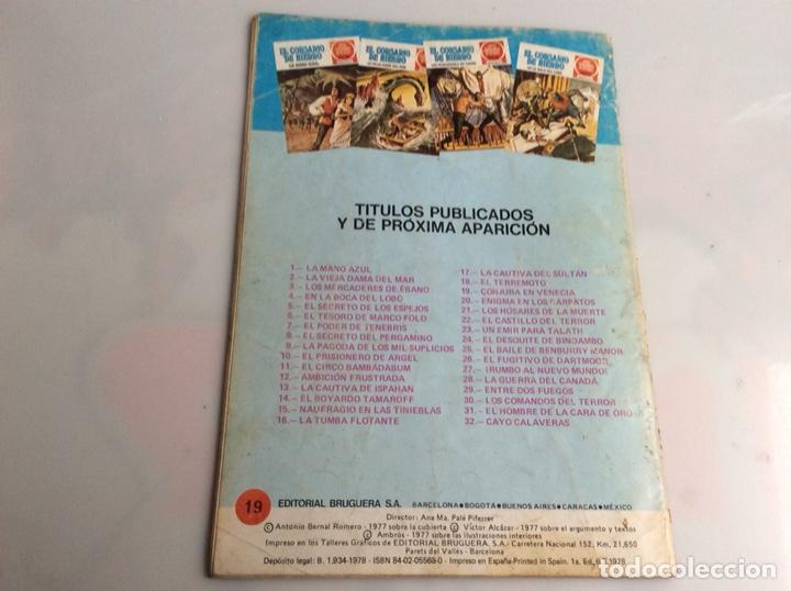 Tebeos: EL CORSARIO DE HIERRO Nº 19 - JOYAS LITERARIAS JUVENILES - Foto 2 - 165848410