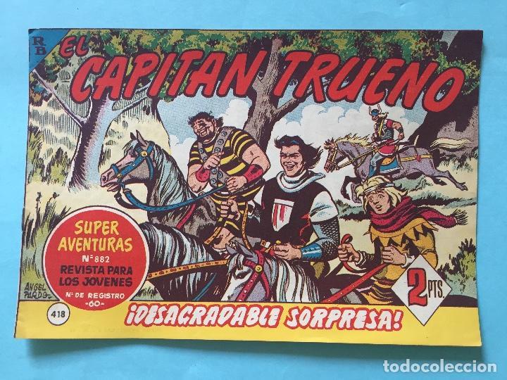 EL CAPITÁN TRUENO NUM 882 AÑOS 60 _LEY833 (Tebeos y Comics - Bruguera - Capitán Trueno)