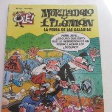 Tebeos: COLECCION OLÉ. MORTADELO Y FILEMON Nº 18 - LA PERRA DE LAS GALAXIAS IBÁÑEZ EDICIONES B CS172. Lote 165874834