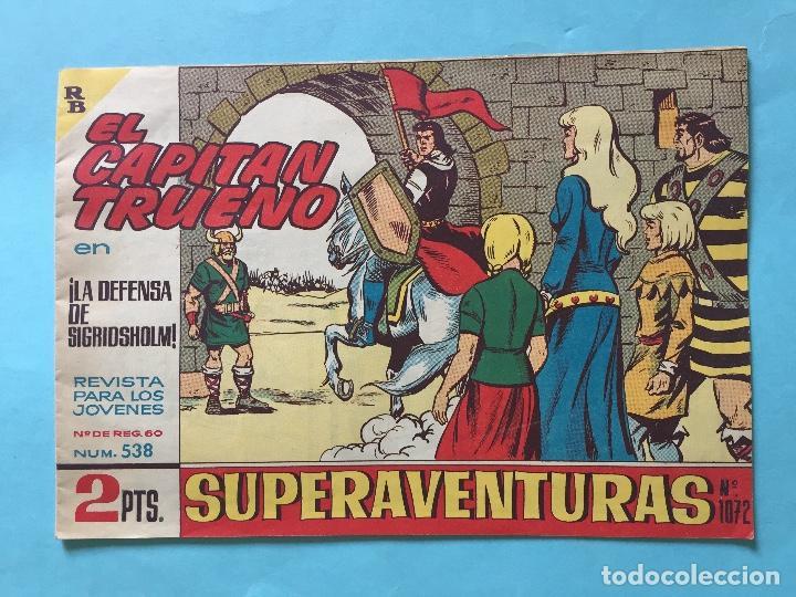 EL CAPITÁN TRUENO NUM 538 AÑOS 60 _LEY834 (Tebeos y Comics - Bruguera - Capitán Trueno)