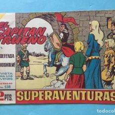 Tebeos: EL CAPITÁN TRUENO NUM 538 AÑOS 60 _LEY834. Lote 165880506