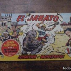 Tebeos: EL JABATO Nº 48, BRUGUERA, ORIGINAL. Lote 165938502