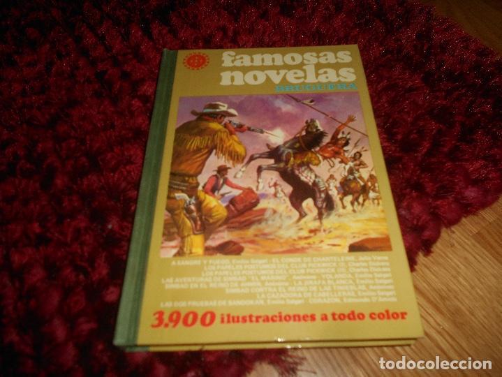 FAMOSAS NOVELAS VOLUMEN XVI - BRUGUERA. PRIMERA EDICIÓN 1979 (Tebeos y Comics - Bruguera - Otros)