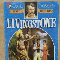 Tebeos - Comic Biografías - Serie Historia (Livingstone) - Ed. Bruguera - 165956526