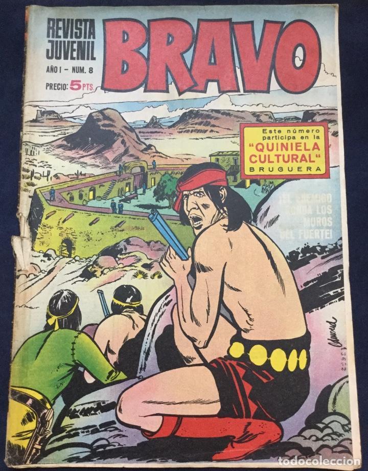 BRAVO BRUGUERA Nº 8 (Tebeos y Comics - Bruguera - Bravo)