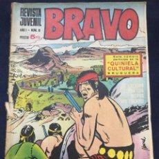 Tebeos: BRAVO BRUGUERA Nº 8. Lote 165968722
