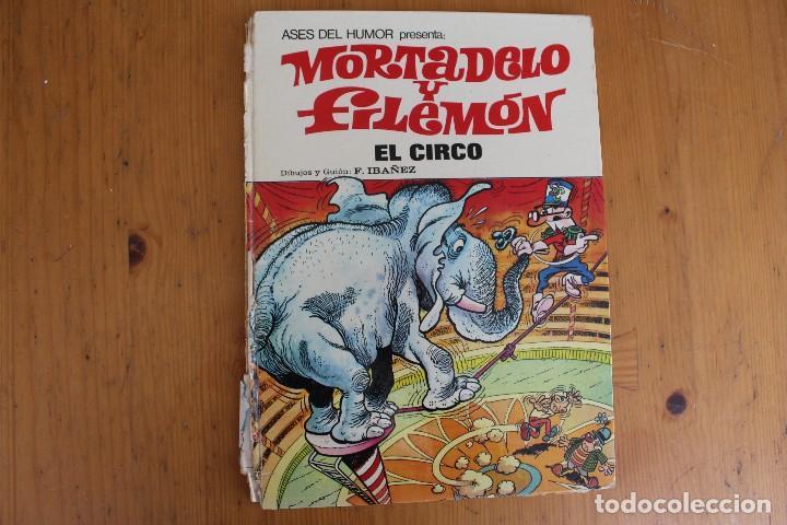 MORTADELO Y FILEMON EL CIRCO LOMO ROTO (Tebeos y Comics - Bruguera - Mortadelo)