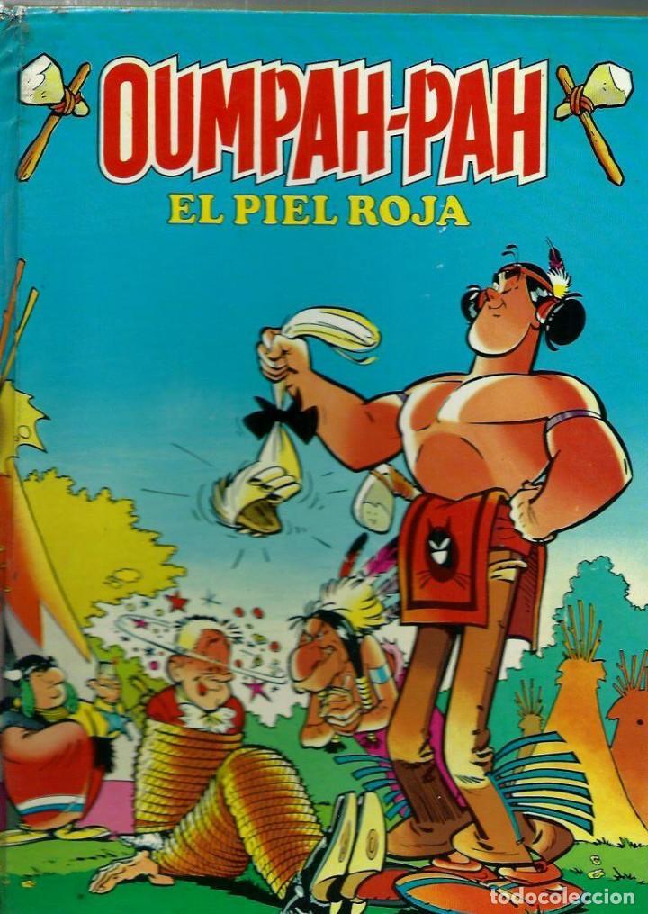 OUMPAH-PAH EL PIEL ROJA - RETAPADO EDITORIAL 1 A 5 - COLECCION COMPLETA - BRUGUERA 1982 1ª EDICION (Tebeos y Comics - Bruguera - Bravo)