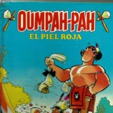 Tebeos: OUMPAH-PAH EL PIEL ROJA - RETAPADO EDITORIAL 1 A 5 - COLECCION COMPLETA - BRUGUERA 1982 1ª EDICION. Lote 166094502