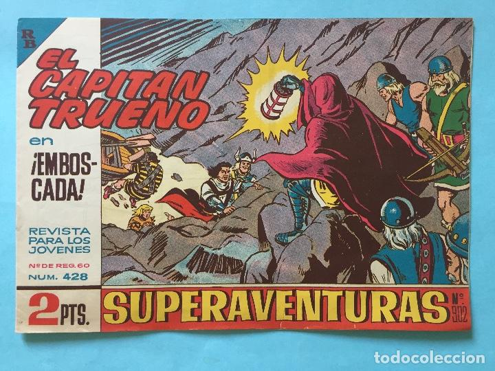 EL CAPITÁN TRUENO NUM 428 AÑOS 60 _LEY846 (Tebeos y Comics - Bruguera - Capitán Trueno)