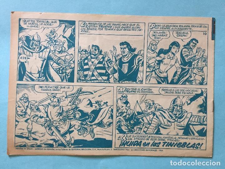 Tebeos: EL CAPITÁN TRUENO NUM 428 AÑOS 60 _LEY846 - Foto 2 - 166156090