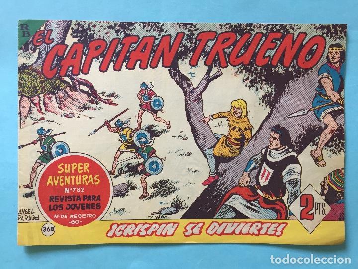 EL CAPITÁN TRUENO NUM 782 AÑOS 60 _LEY847 (Tebeos y Comics - Bruguera - Capitán Trueno)