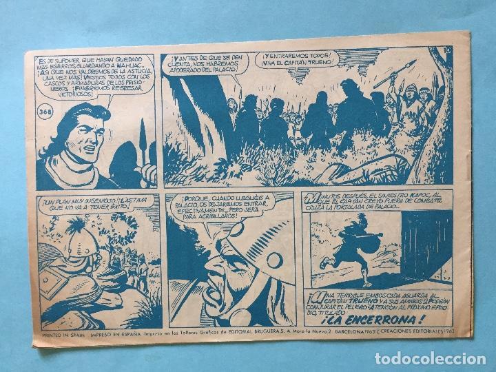 Tebeos: EL CAPITÁN TRUENO NUM 782 AÑOS 60 _LEY847 - Foto 2 - 166156206