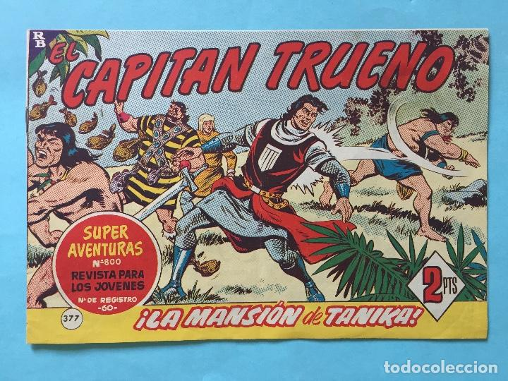 EL CAPITÁN TRUENO NUM 800 AÑOS 60 _LEY848 (Tebeos y Comics - Bruguera - Capitán Trueno)