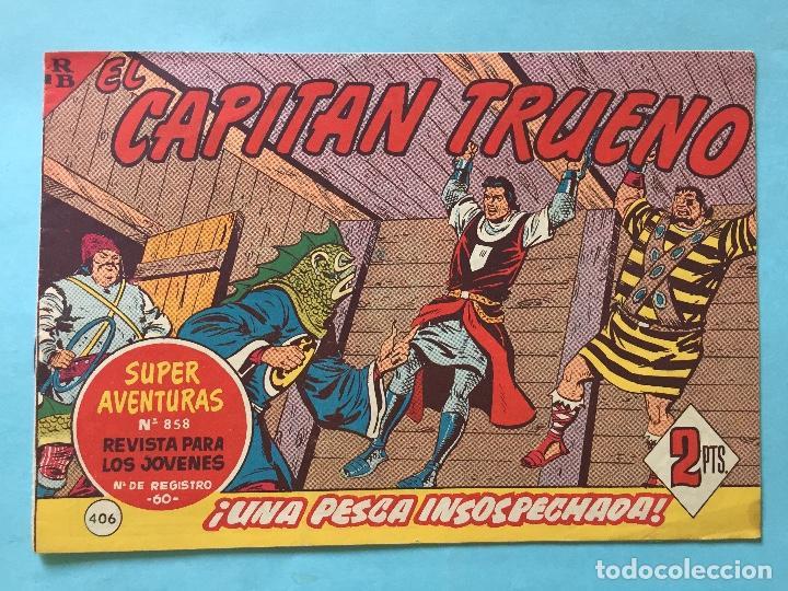 EL CAPITÁN TRUENO NUM 858 AÑOS 60 _LEY849 (Tebeos y Comics - Bruguera - Capitán Trueno)