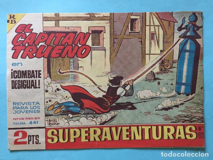 EL CAPITÁN TRUENO NUM 441 AÑOS 60 _LEY850 (Tebeos y Comics - Bruguera - Capitán Trueno)