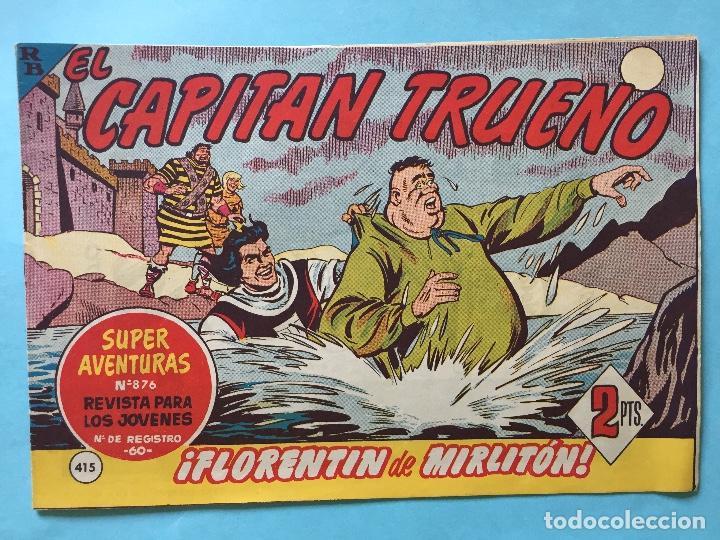 EL CAPITÁN TRUENO NUM 876 AÑOS 60 _LEY851 (Tebeos y Comics - Bruguera - Capitán Trueno)