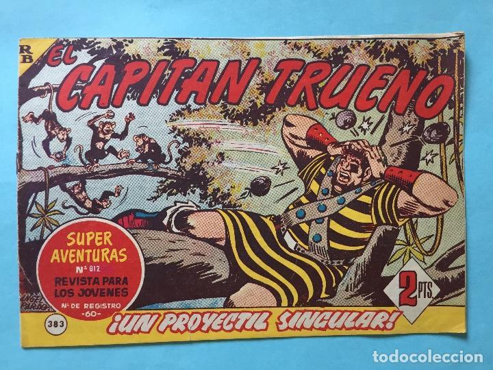 EL CAPITÁN TRUENO NUM 812 AÑOS 60 _LEY852 (Tebeos y Comics - Bruguera - Capitán Trueno)