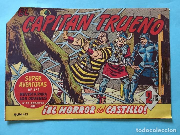 EL CAPITÁN TRUENO NUM 872 AÑOS 60 _LEY854 (Tebeos y Comics - Bruguera - Capitán Trueno)