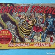 Tebeos: EL CAPITÁN TRUENO NUM 872 AÑOS 60 _LEY854. Lote 166157362